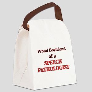 Proud Boyfriend of a Speech Patho Canvas Lunch Bag