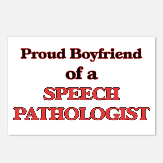 Proud Boyfriend of a Spee Postcards (Package of 8)