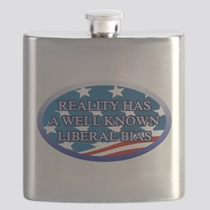 REALITY HAS A WELL KNOWN LIBERAL BIAS Flask