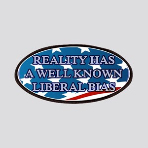 REALITY HAS A WELL KNOWN LIBERAL BIAS Patch