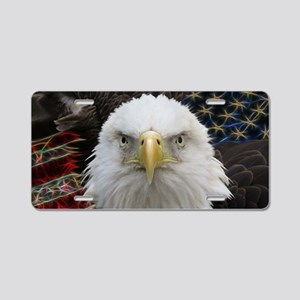 American Pride Bald Eagle Aluminum License Plate