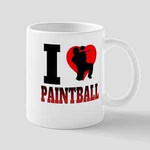 I Heart Paintball Mugs