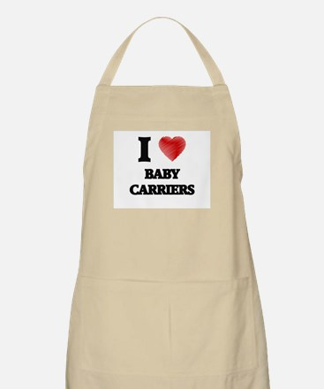 I Love BABY CARRIERS Apron