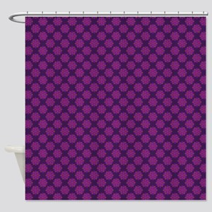 Petals (Purple and Pink) Shower Curtain