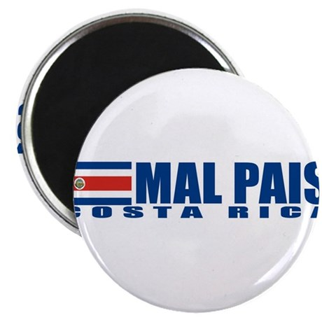 "Mal Pais, Costa RIca 2.25"" Magnet (100 pack)"