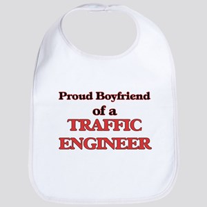 Proud Boyfriend of a Traffic Engineer Bib