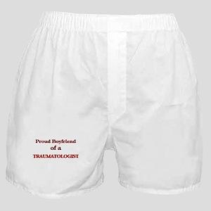 Proud Boyfriend of a Traumatologist Boxer Shorts