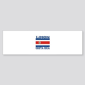 Limon, Costa Rica Bumper Sticker