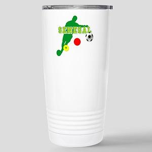 Senegal Soccer Travel Mug