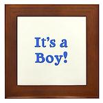 It's a Boy! Framed Tile