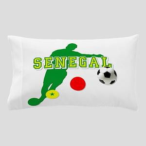 Senegal Soccer Pillow Case