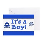 It's a Boy! Greeting Cards (Pk of 20)