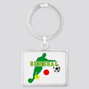 Senegal Soccer Keychains