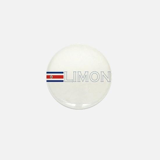 Limon, Costa Rica Mini Button