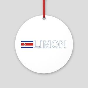 Limon, Costa Rica Ornament (Round)