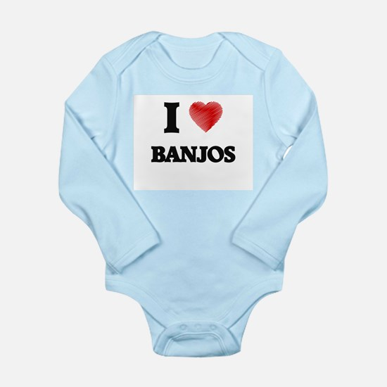 I Love BANJOS Body Suit