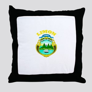 Limon, Costa Rica Throw Pillow