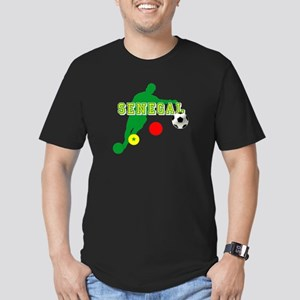 Senegal Soccer Men's Fitted T-Shirt (dark)
