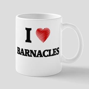 I Love BARNACLES Mugs