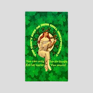 Kiss An Irish Girl Area Rug