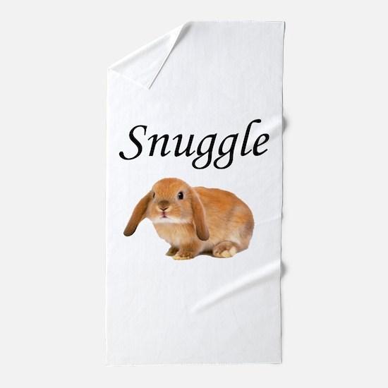 Snuggle Bunny Beach Towel