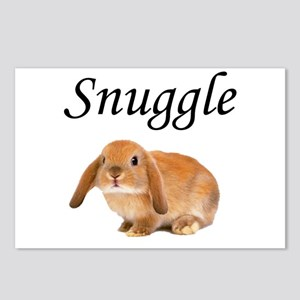Snuggle Bunny Postcards (Package of 8)