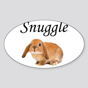 Snuggle Bunny Sticker
