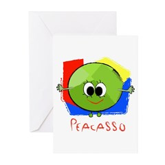 Peacasso Greeting Cards (Pk of 10)