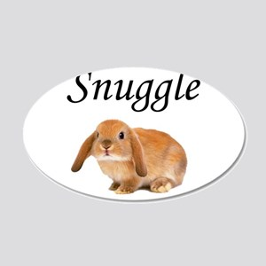 Snuggle Bunny Wall Decal