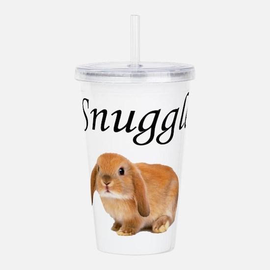 Snuggle Bunny Acrylic Double-wall Tumbler