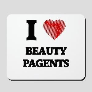 beauty pagents Mousepad