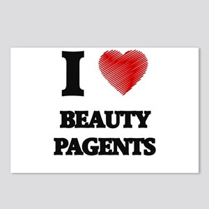 beauty pagents Postcards (Package of 8)