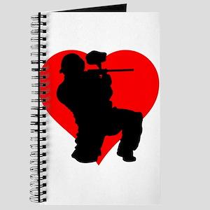 Paintball Heart Journal