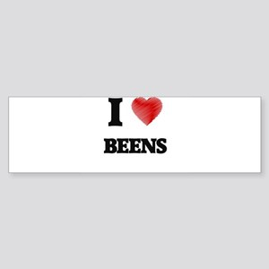 I Love BEENS Bumper Sticker