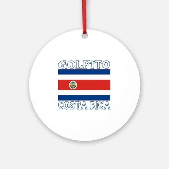 Golfito, Costa Rica Ornament (Round)