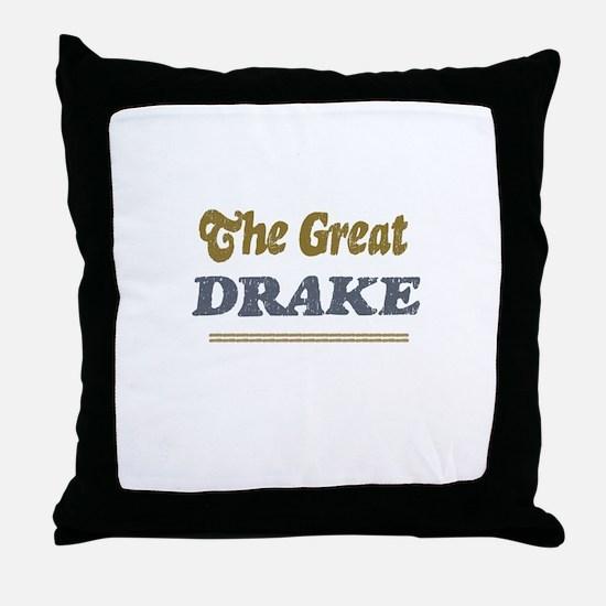 Drake Throw Pillow
