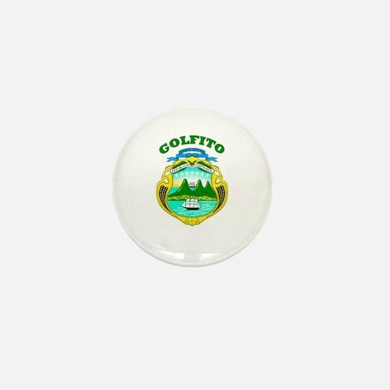 Golfito, Costa Rica Mini Button