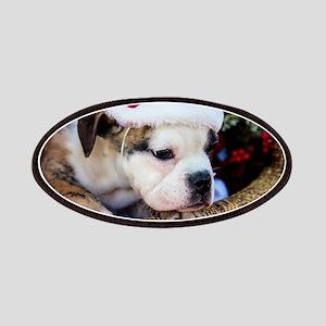 Brindle English Bulldog Patch