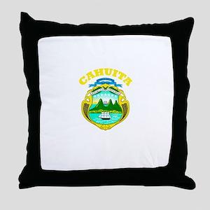 Cahuita, Costa Rica Throw Pillow