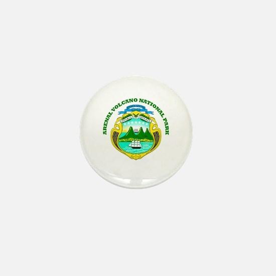 Arenal Volcano National Park Mini Button