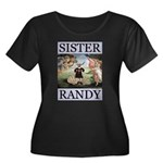 Sister Randy Venus Women's Plus Size Scoop Neck Da