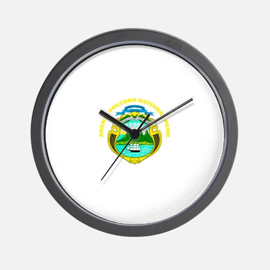 Arenal Volcano National Park Wall Clock
