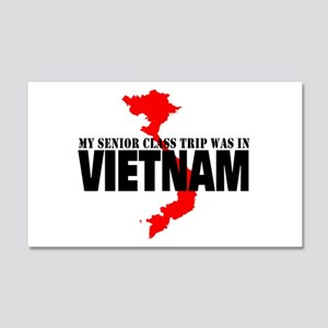 Vietnam senior class trip Wall Decal