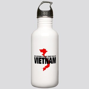 Vietnam senior class trip Water Bottle