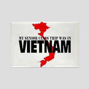Vietnam senior class trip Magnets