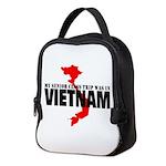 Vietnam senior class trip Neoprene Lunch Bag