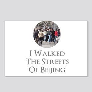 I Walked The Streets Of B Postcards (Package of 8)