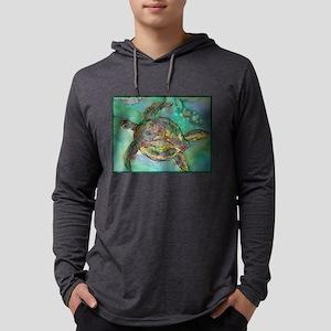 Sea Turtle, Wildlife art! Long Sleeve T-Shirt