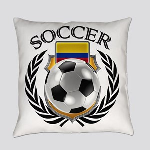 Colombia Soccer Fan Everyday Pillow