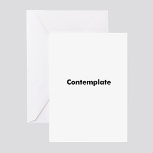 Contemplate Greeting Cards (Pk of 10)